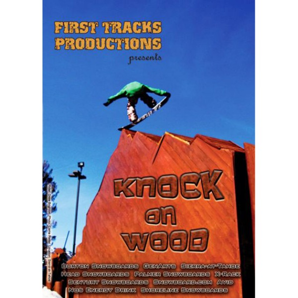 KNOCK ON WOOD DVD Snowboard Video