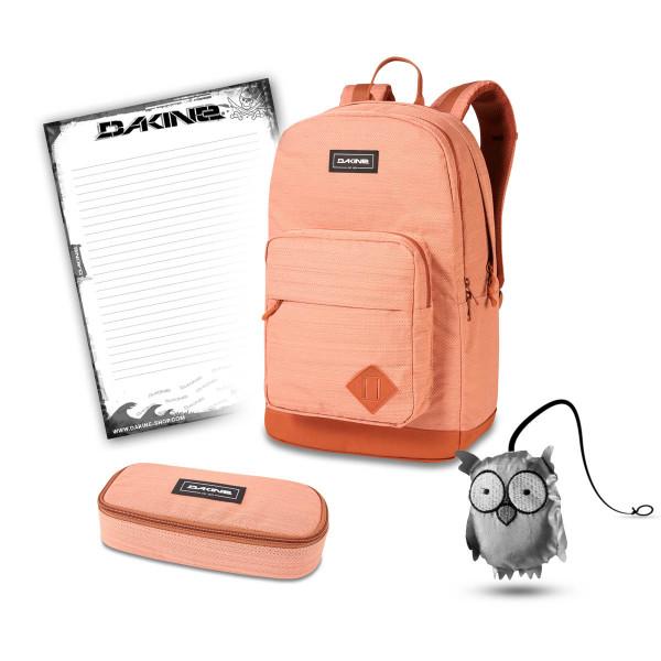 Dakine 365 Pack DLX 27L + School Case + Emma + Block Schulset Cantaloupe