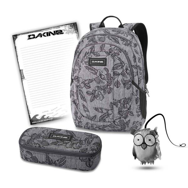 Dakine Garden 20L + School Case XL + Emma + Block Schulset Azalea