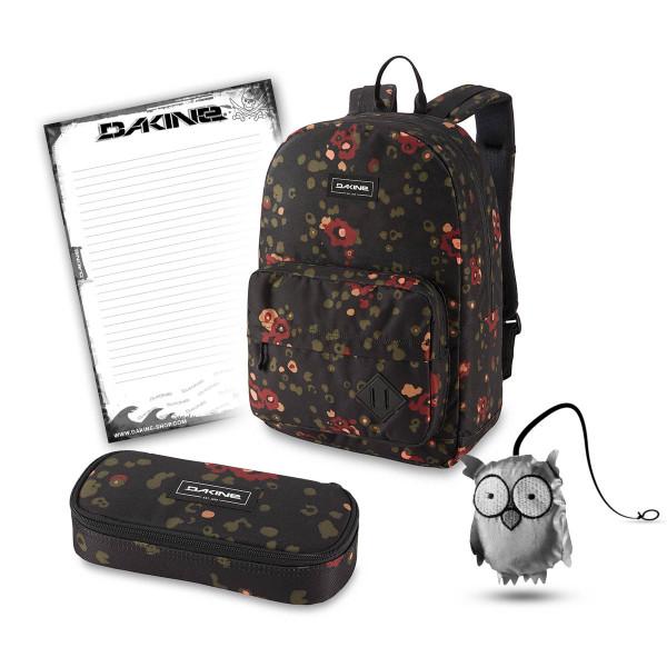 Dakine 365 Pack 30L + School Case XL + Emma + Block Schulset Begonia