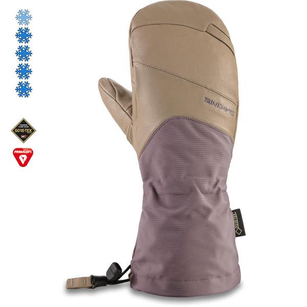 Dakine Womens Gore Continental Mitt Damen Ski- / Snowboard Handschuhe Stone / Shark