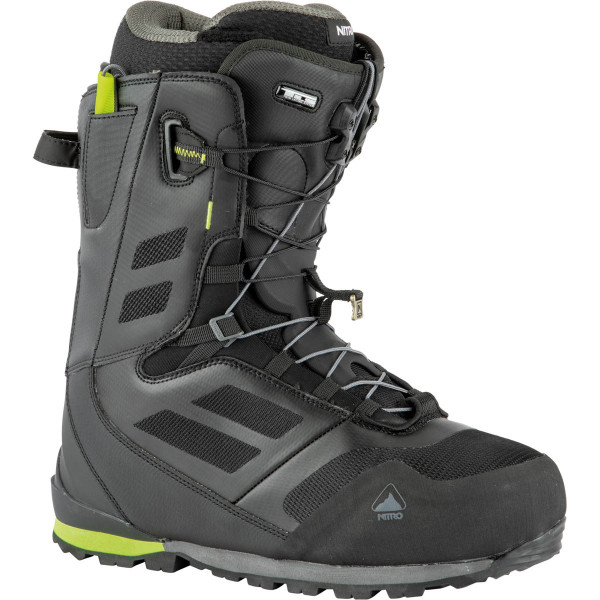Nitro Incline Tls Boot 21 Snowboard Boots Black-Lime