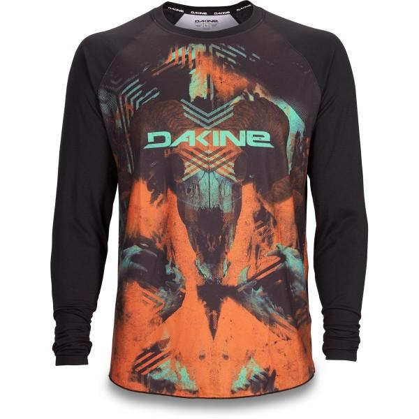 Dakine Dropout L/S Jersey Herren Bike Jersey Diablo