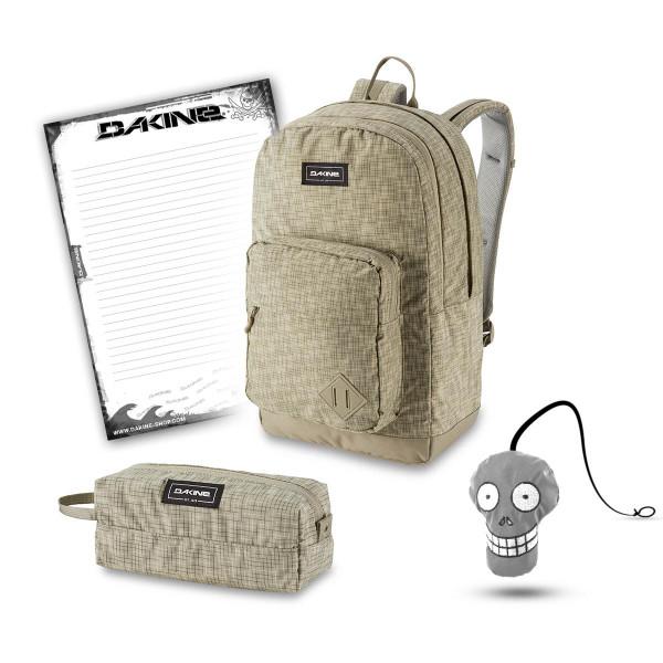 Dakine 365 Pack DLX 27L + Accessory Case + Harry + Block Schulset Gravity Grey