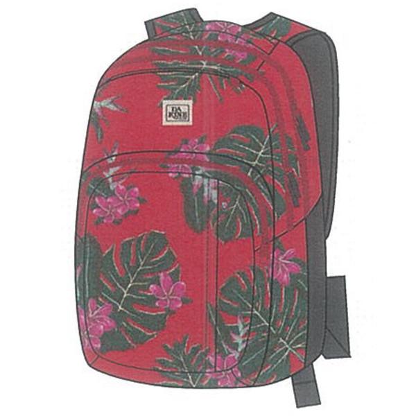 Dakine Campus M 25L Rucksack mit Laptopfach Red Jungle Palm