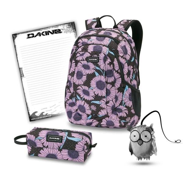 Dakine Garden 20L + Accessory Case + Emma + Block Schulset Nightflower