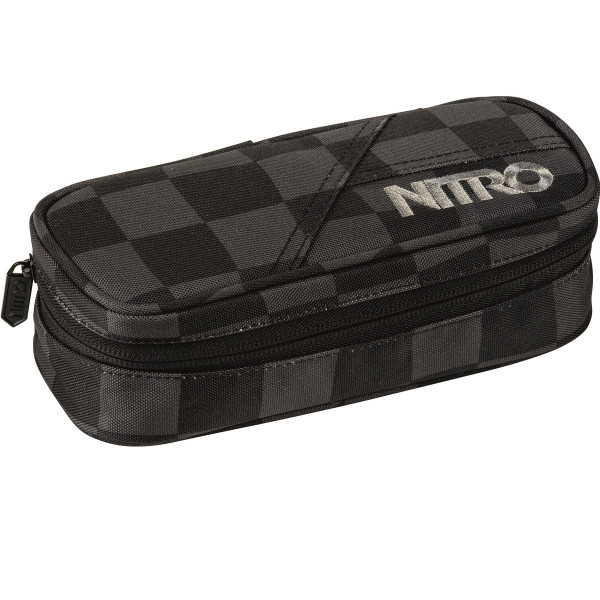 Nitro Pencil Case Federmäppchen Black Checker