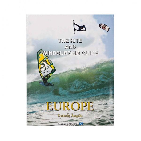 Kite und Windsurf Guide Buch Europe (Deutsche Ausgabe)