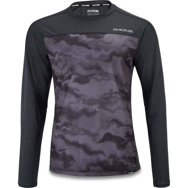 Dakine Syncline L/S Jersey Herren Bike Jersey Black / Dark Ashcroft
