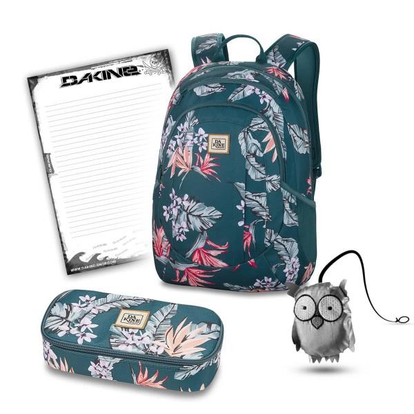 Dakine Garden 20L + School Case XL + Emma + Block Schulset Waimea