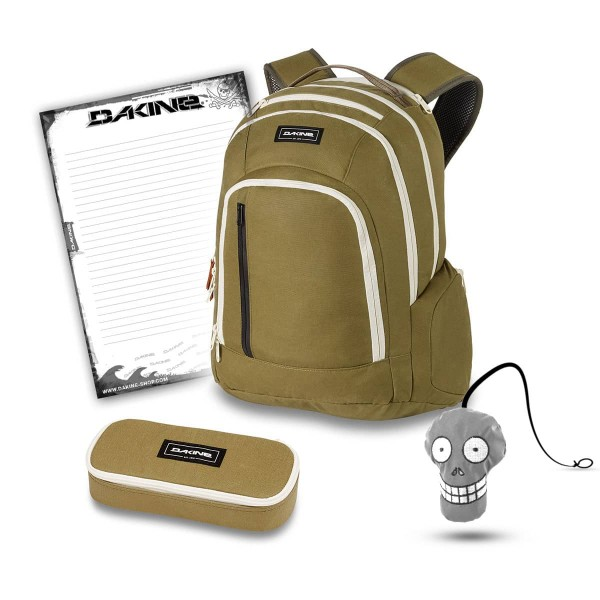 Dakine 101 29L + School Case + Harry + Block Schulset Pine Trees