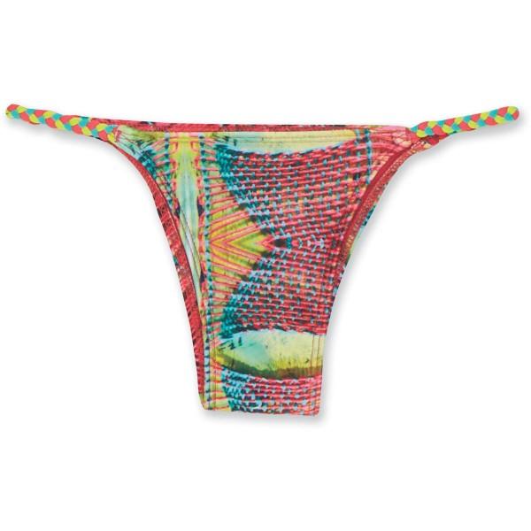 Dakine Kelli Braided Bottom Bikini Pant Guava Margarita