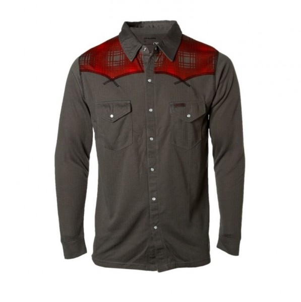 Dakine Rodeo Shirt Mid-Weight Funktionsshirt Charcoal