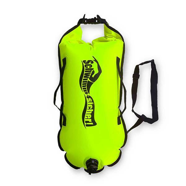 Schwimm Sicher Swim & Safety Buoy Classic Fluo Yellow