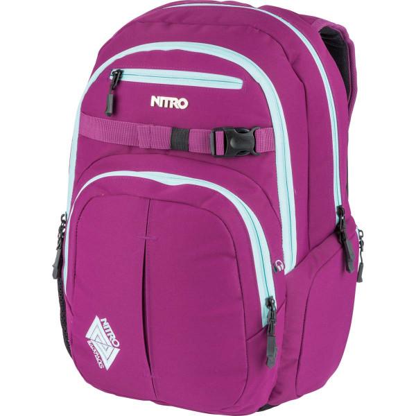 Nitro Chase 35L Rucksack mit Laptopfach Grateful Pink