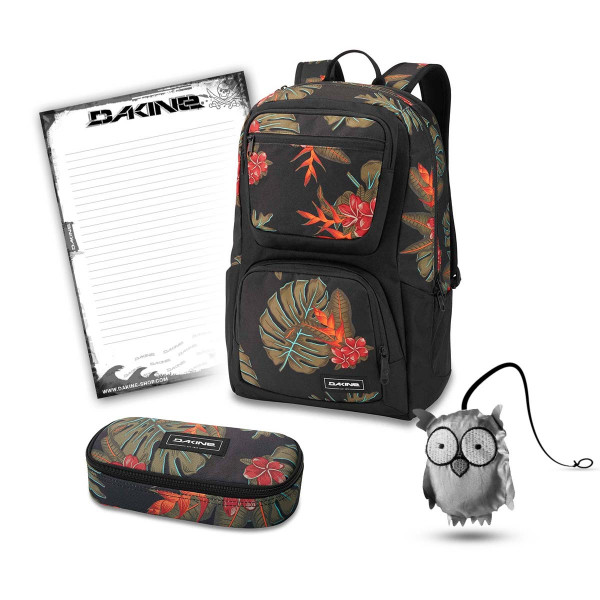 Dakine Jewel 26L + School Case + Emma + Block Schulset Jungle Palm