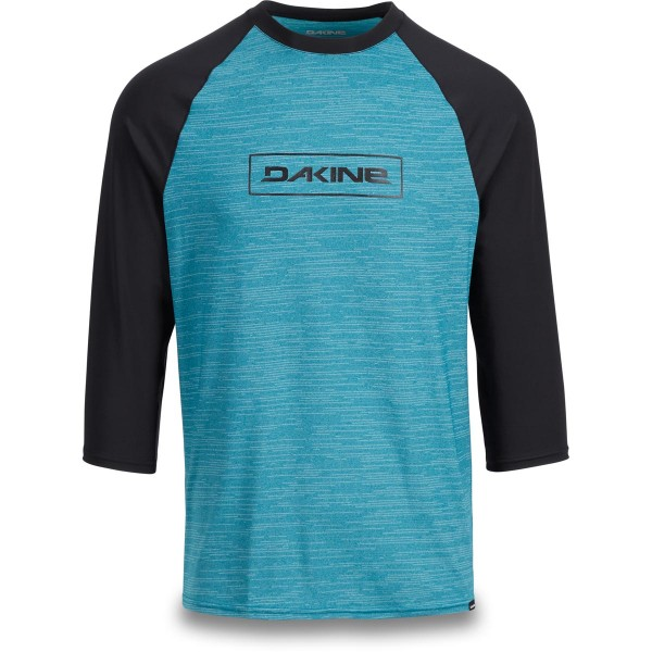 Dakine Roots Raglan Loose Fit 3/4 Sleeve Herren Lycra Seaford Heather