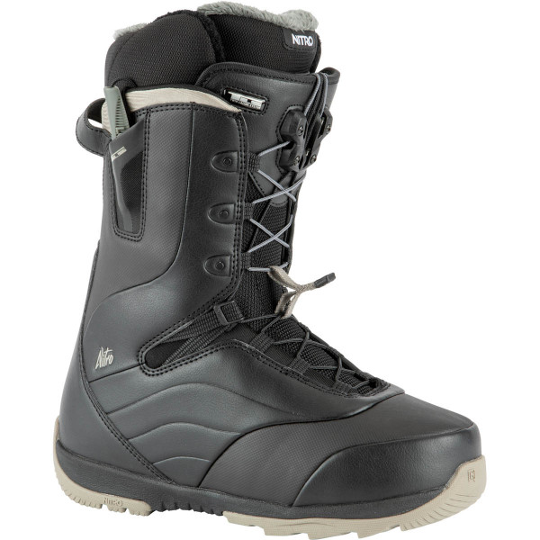 Nitro Crown Tls Boot 21 Snowboard Boots Black