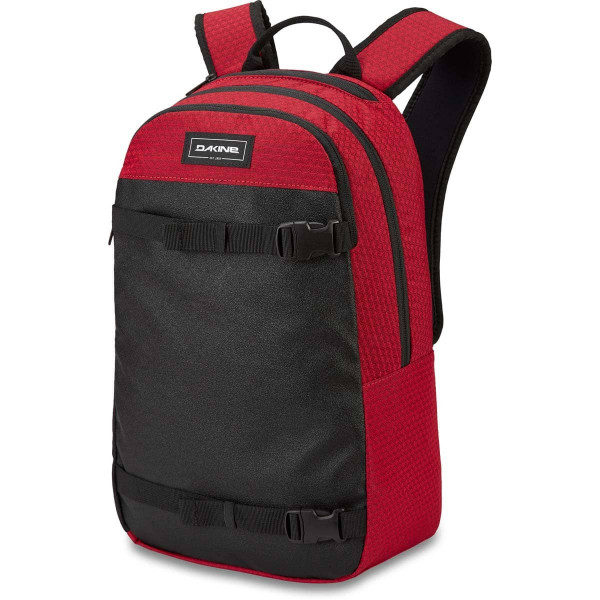 Dakine URBN Mission Pack 22L Rucksack mit iPad/Laptop Fach Crimson Red