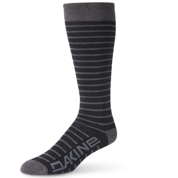Dakine Womens Thinline Sock Damen Ski- / Snowboard Socken Black / Charcoal