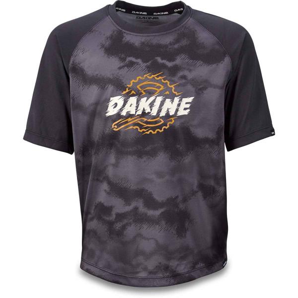 Dakine Kids Prodigy  S/S Jersey Kinder Bike Jersey Black / Dark Ashcroft