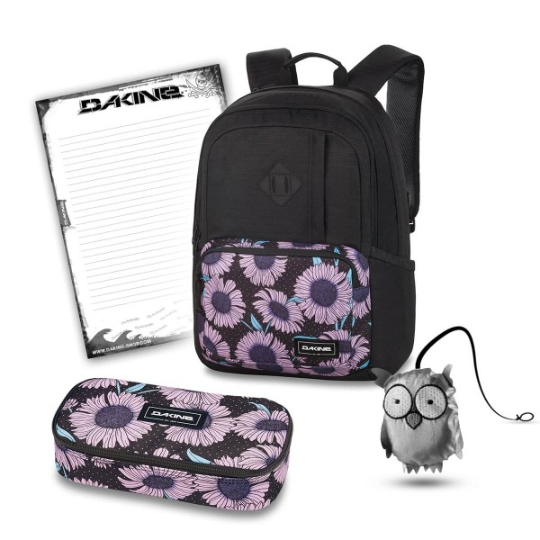 Dakine Alexa 24L + School Case XL + Emma + Block Schulset Nightflower