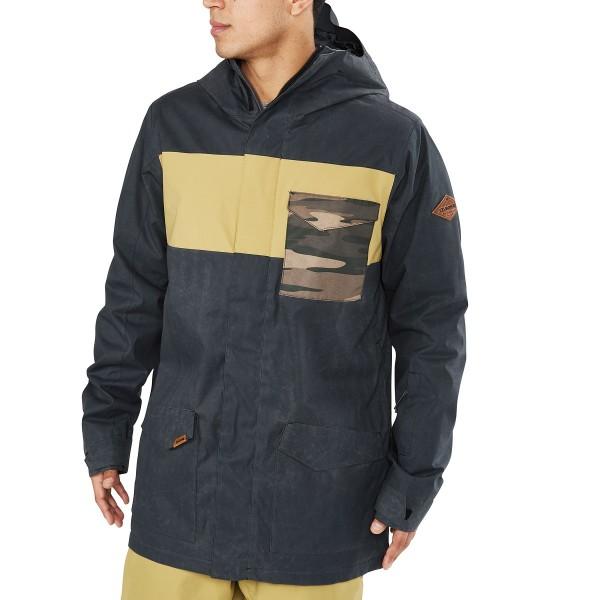 Dakine Elsman Jacket Herren Ski- / Snowboard Jacke Black / Fennel / Field Camo