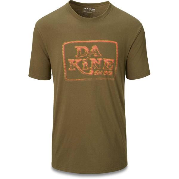 Dakine Classic Ascii Herren T-Shirt Dark Olive