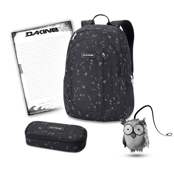 Dakine Garden 20L + School Case + Emma + Block Schulset Slash Dot