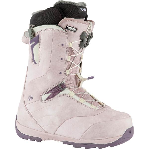 Nitro Crown Tls Boot 21 Snowboard Boots Rose-Purple