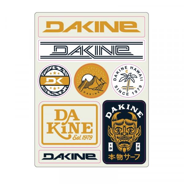 Dakine Mini Stickers Snow Aufkleber (13 x 9 cm)