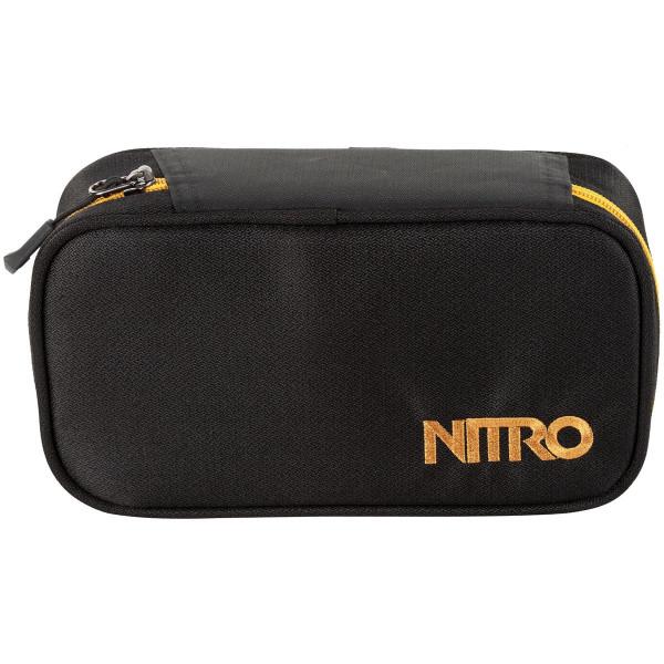 Nitro Pencil Case XL Federmäppchen Golden Black
