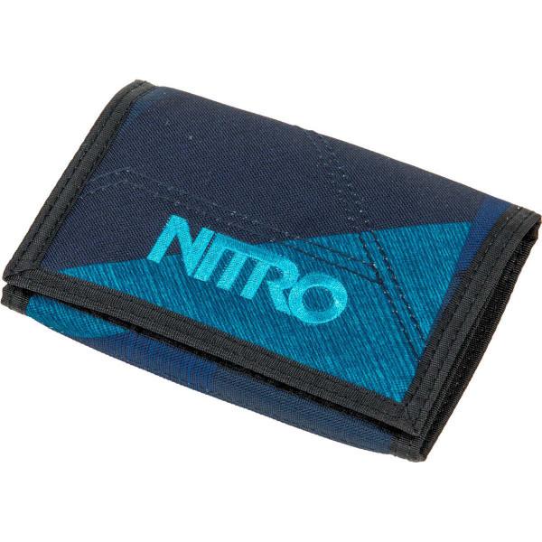 Nitro Wallet Geldbeutel Fragments Blue