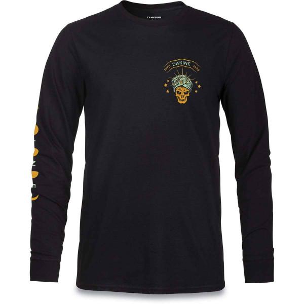 Dakine Surf Psychic L/S Herren T-Shirt Black