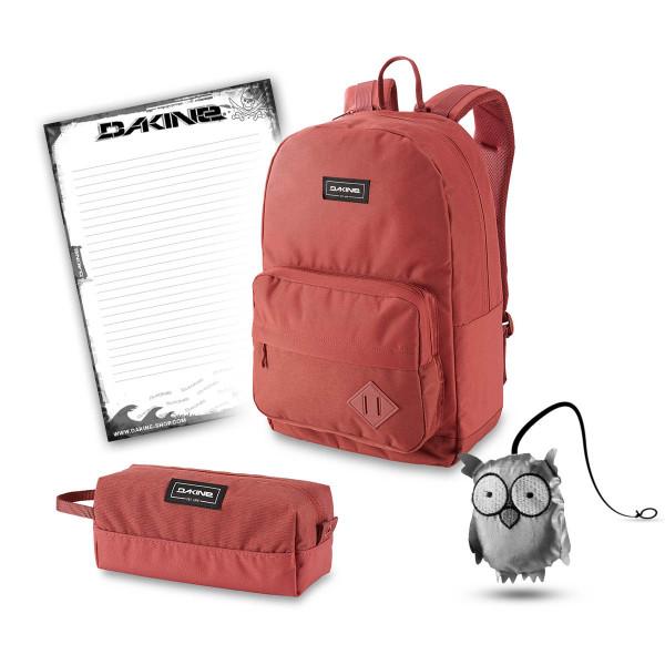Dakine 365 Pack 30L + Accessory Case + Emma + Block Schulset Dark Rose