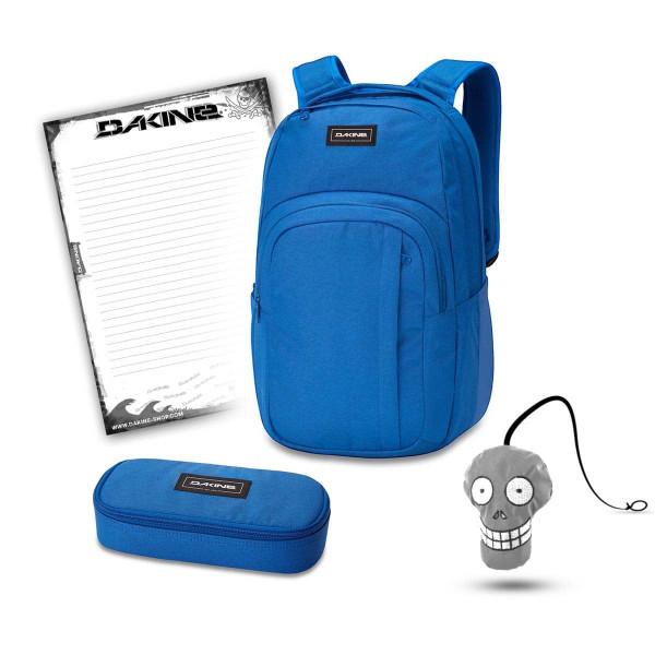 Dakine Campus L 33L + School Case + Harry + Block Schulset Cobalt Blue
