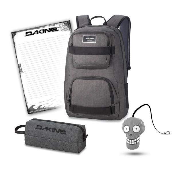Dakine Duel 26L + Accessory Case + Harry + Block Schulset Carbon