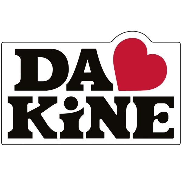 Dakine Love Aufkleber Black (10 x 5.5 cm)