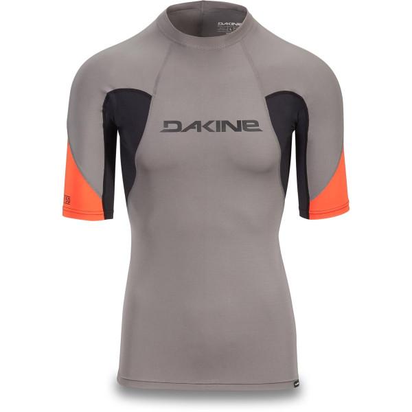 Dakine Heavy Duty Snug Fit S/S Herren Lycra Carbon