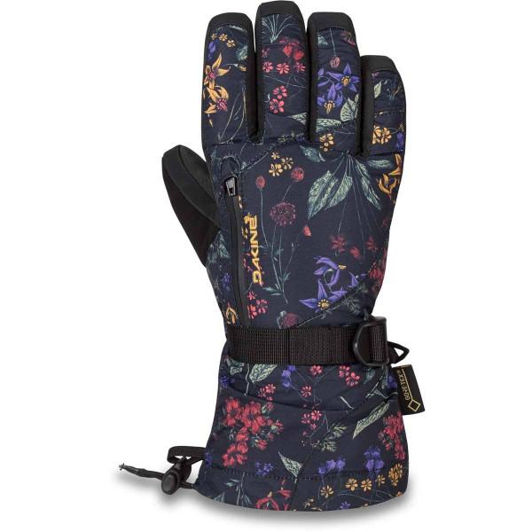 Dakine Leather Sequoia Gore-Tex Glove Damen Ski- / Snowboard Handschuhe mit Innenhandschuh Botanics