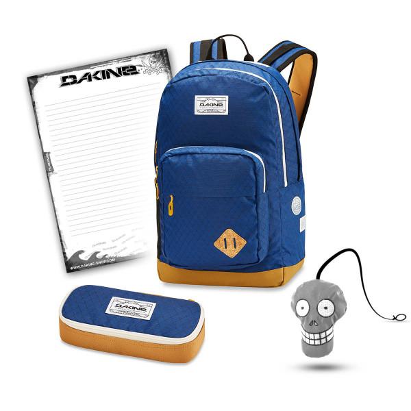 Dakine 365 Pack DLX 27L + School Case + Harry Block Schulset Scout