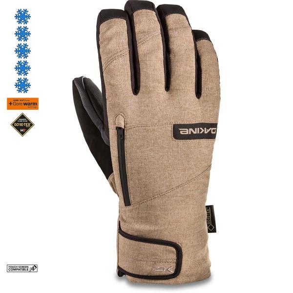 Dakine Titan Gore-Tex Short Glove Herren Ski- / Snowboard Handschuhe mit Innenhandschuh Stone