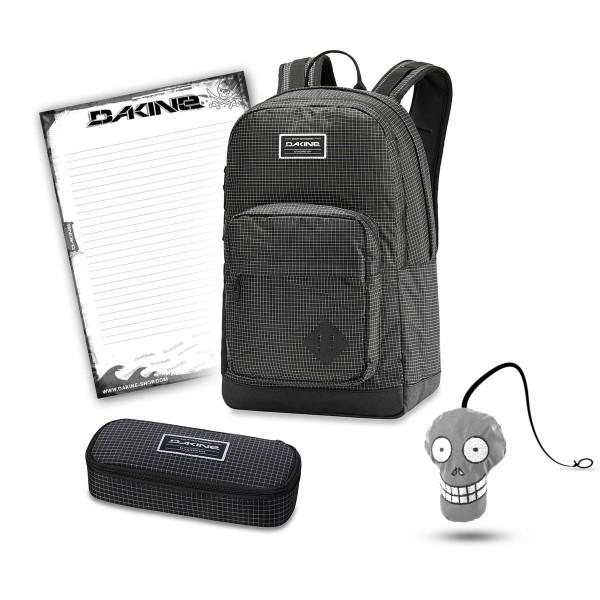 Dakine 365 Pack DLX 27L + School Case + Harry Block Schulset Rincon
