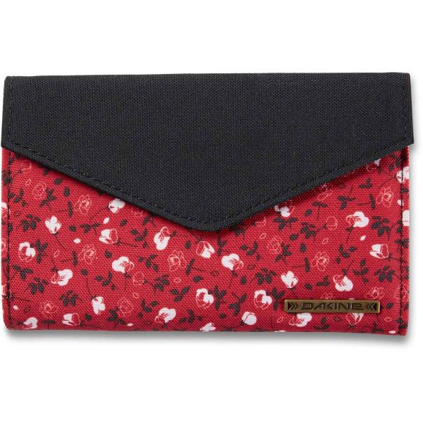 Dakine Clover Tri-Fold Geldbeutel mit iPhone Fach Crimson Rose