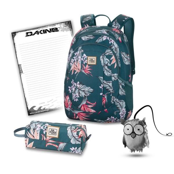 Dakine Garden 20L + Accessory Case + Emma + Block Schulset Waimea