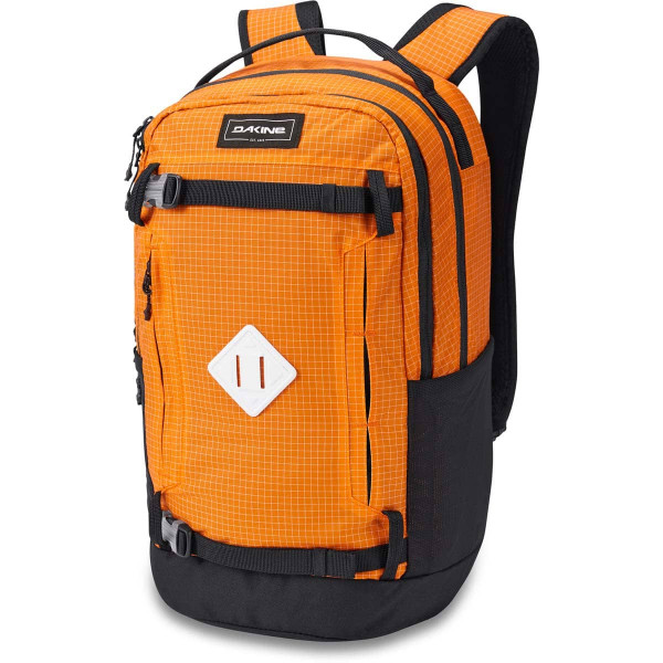 Dakine URBN Mission Pack 23L Rucksack mit iPad/Laptop Fach Orange
