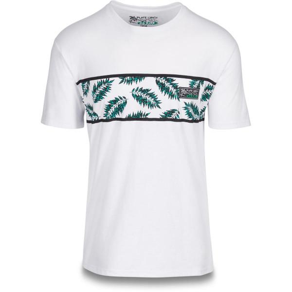Dakine Plate Lunch Palms T Shirt Herren White