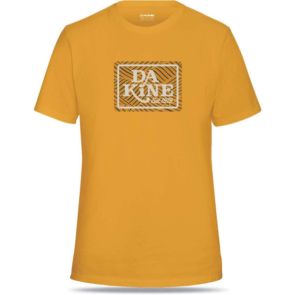 Dakine Deep Sea Herren T-Shirt Golden Glow