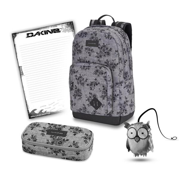 Dakine 365 Pack DLX 27L + School Case XL + Emma + Block Schulset Rosie