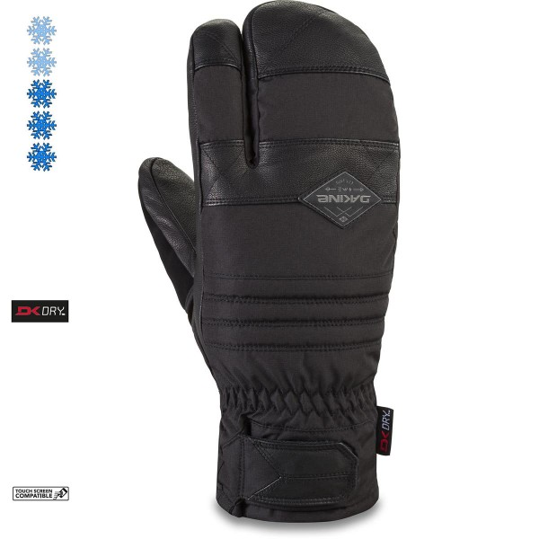 Dakine Fillmore Trigger Mitt Herren Ski- / Snowboard Handschuhe Fäustlinge Black